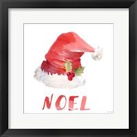 Framed Holiday Hat Sentiment II