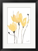 Framed Yellow Sway
