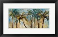 Framed Island Morning Palms