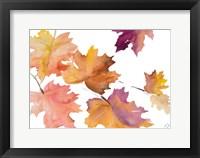 Framed Harvest Leaves I