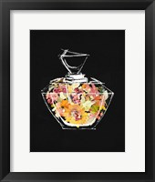 Framed Crystal Watercolor Perfume on Black II