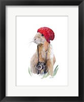 Modern Bunny I Framed Print
