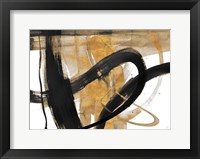 Framed Urban Vibe with Gold II