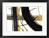 Framed Urban Vibe with Gold I