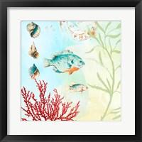 Framed Deep Sea Coral II