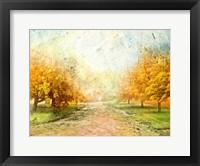 Framed Oak Path