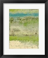 Framed Organic Green I