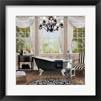 Framed Chandelier Bath I