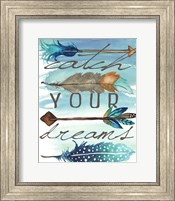Framed Catch Your Dreams