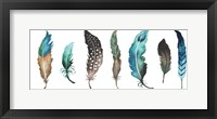 Fetching Feathers II Framed Print