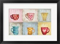 Framed Coffee Pattern