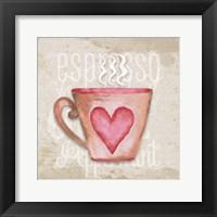 Framed Daily Coffee III