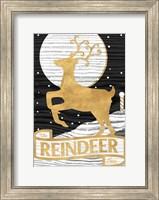 Framed Winter Lodge Sign II