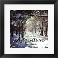 Framed Adventure Begins