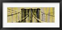 Framed Brooklyn Bridge Type