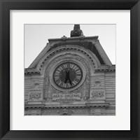 Framed Paris Scene IV