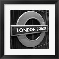 Framed London Scene II