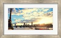 Framed Thames River