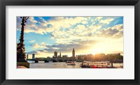 Framed Thames River