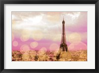 Framed Paris Sparkles
