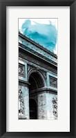 Framed Watercolor France Panel I