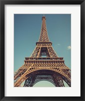 Framed Vintage Eiffel