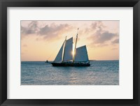 Framed Coastal Sailing