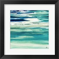 Framed Blue Color Study II