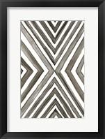 Framed Angled Black & White