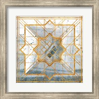 Framed Deco Square I