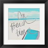 Framed On Beach Time