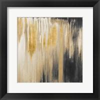 Framed Gold Paysage I