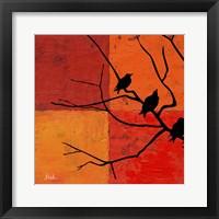 Framed Three Birdies I