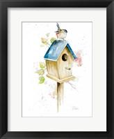 Framed Bird House I