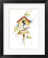 Framed Bird House II