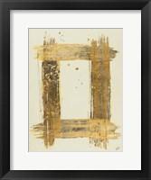 Framed Gold Rectangle