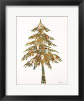 Framed Retro Tree