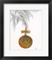 Framed Retro Ornament