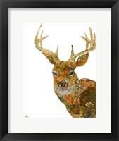 Framed Retro Deer