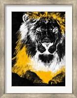 Framed Stained Safari I