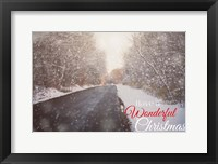 Framed Wonderful Christmas
