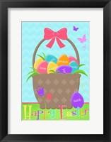 Framed Happy Easter Basket