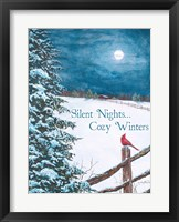 Framed Cozy Winters