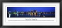 Framed Louisville, Kentucky