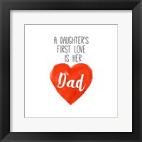 Framed Daughters First Love is Her Dad
