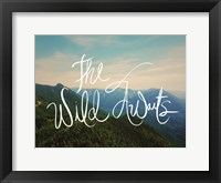 Framed Wild Awaits