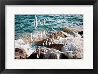Framed Wave Crashes