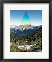 Framed Mountain Peak