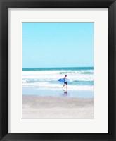 Framed East Coast Surf Girl