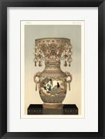 Framed Awagi Vase Pl. XLIX
